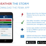 FEMA WEATHER THE STORM APP